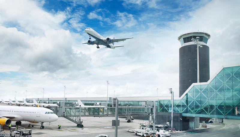 Aeroporto de Barcelona na Espanha