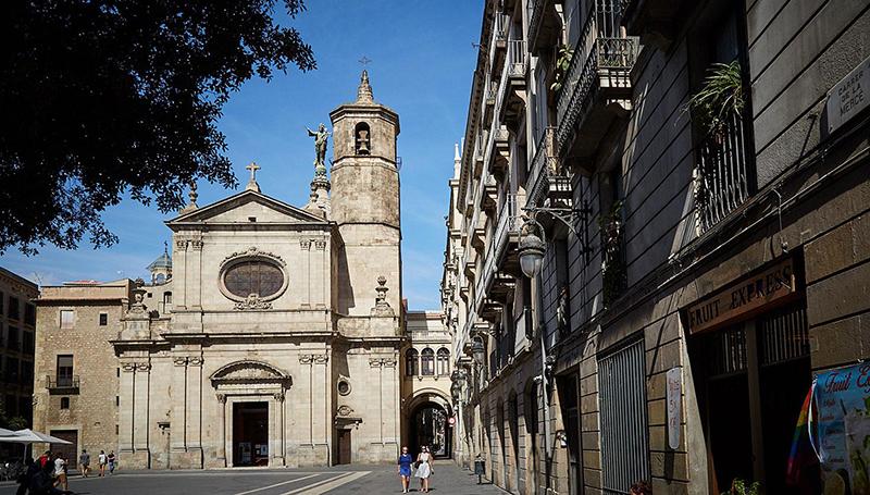 Basílica La Mare de Déu de la Mercè em Barcelona
