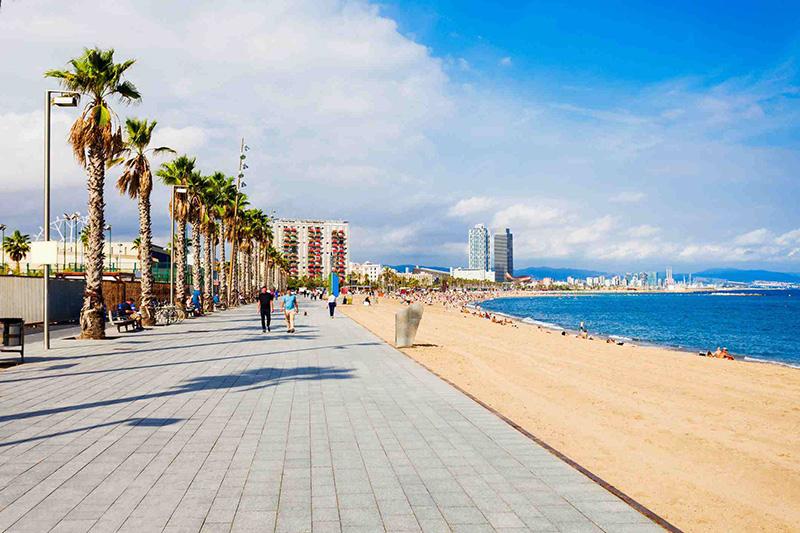 Orla da Praia Barceloneta
