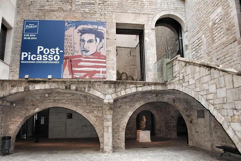 Área externa do Museu Picasso de Barcelona
