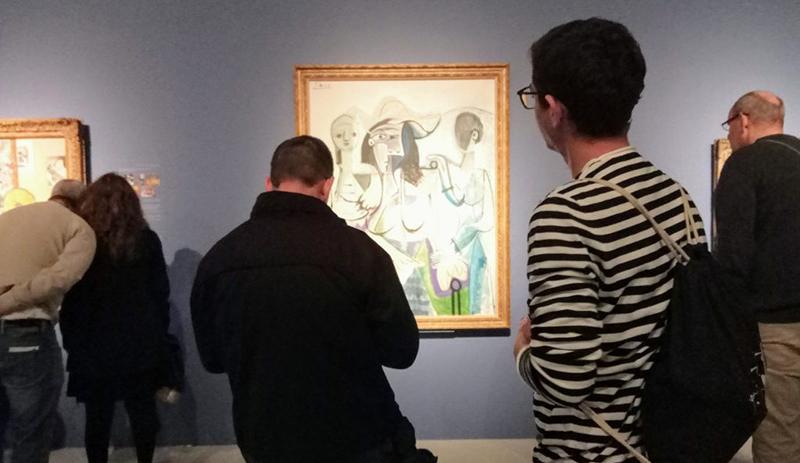 Visitação no Museu Picasso de Barcelona