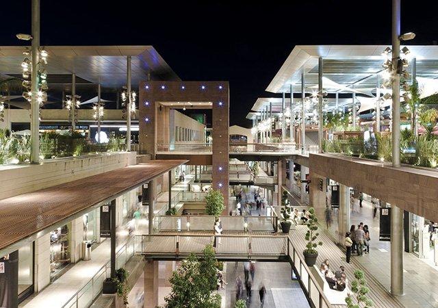 Shoppings em Barcelona