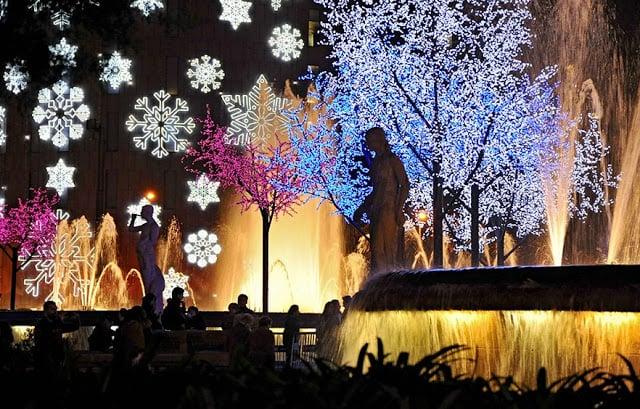 Natal em Barcelona em 2018
