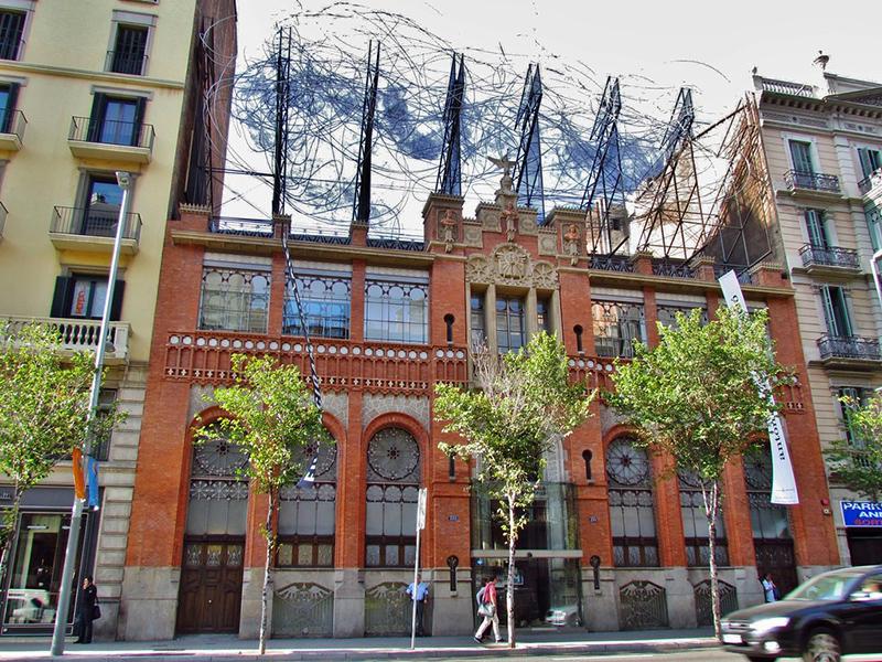 Fundació Antoni Tápies em Barcelona