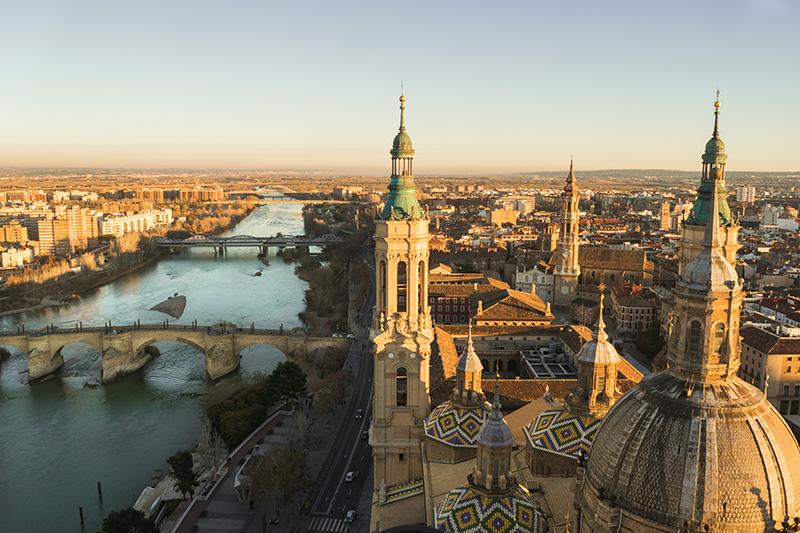 Zaragoza na Espanha