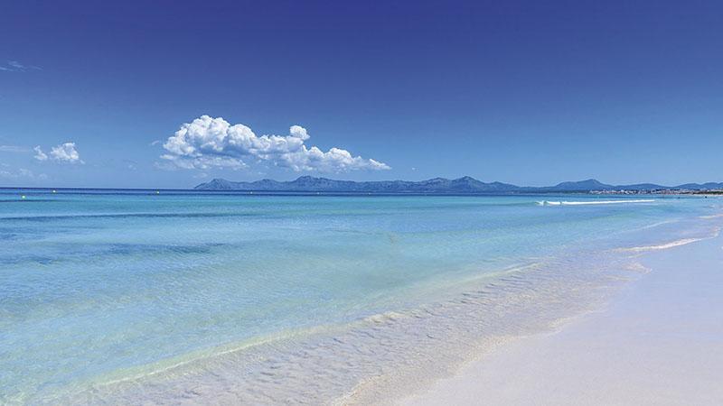 Playa de Muroem Maiorca