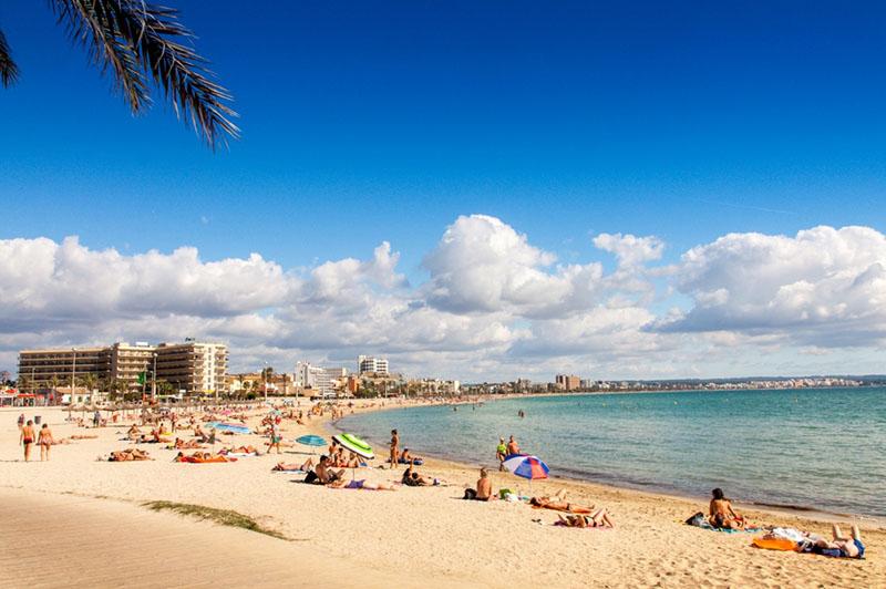 Praia de Palma em Maiorca