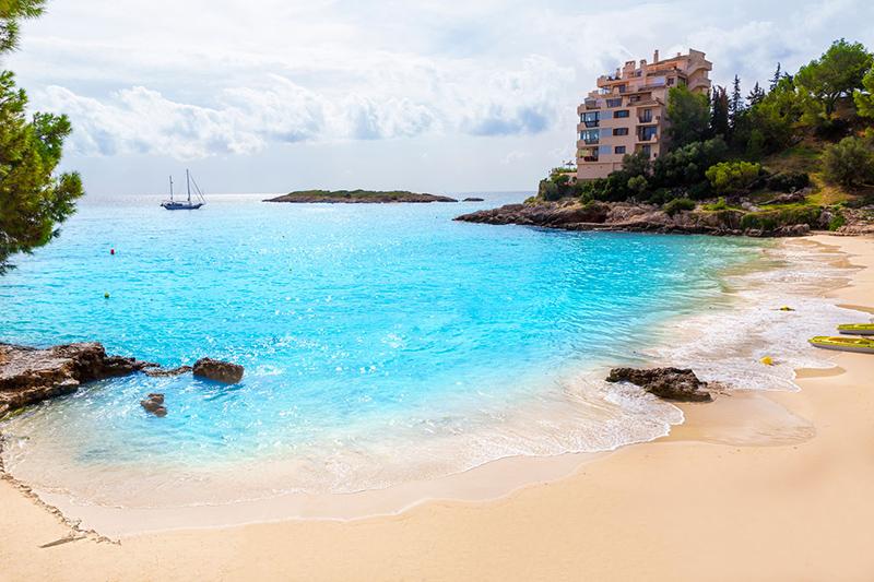 Majorca Playa de Illetas em La Palma