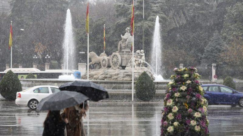 Inverno em Madri