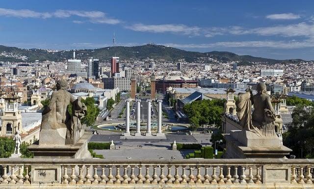 10 Parques e Jardins em Montjuic em Barcelona