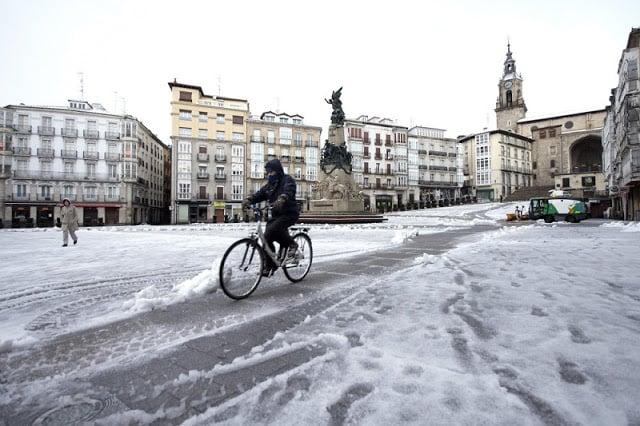 Cidades com neve na Espanha