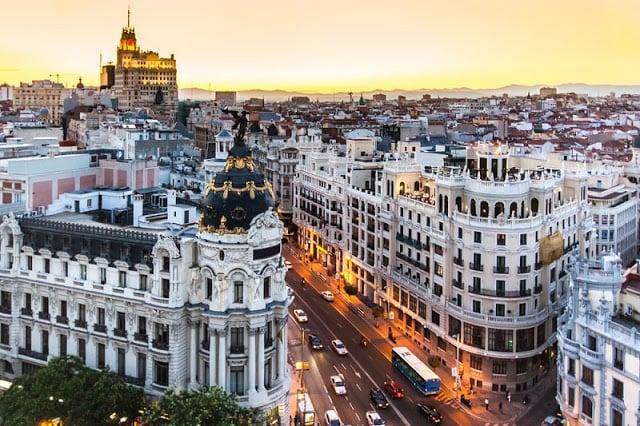 O que fazer no verão em Madri