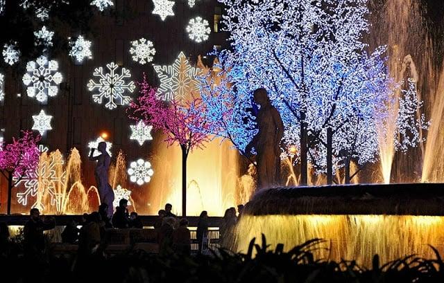Decoração de Natal em Barcelona