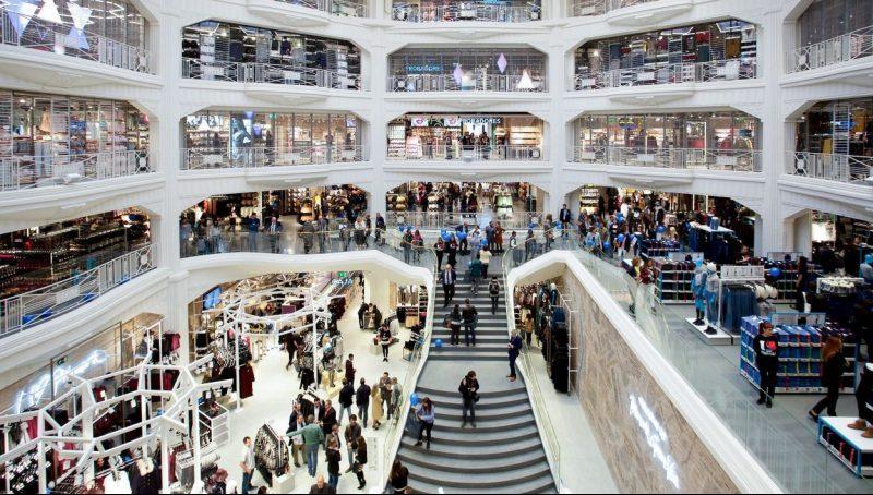 Shopping em Madri