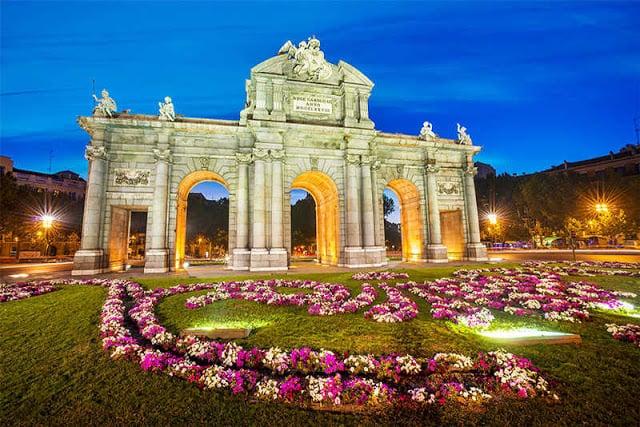 Cidades perto de Madri