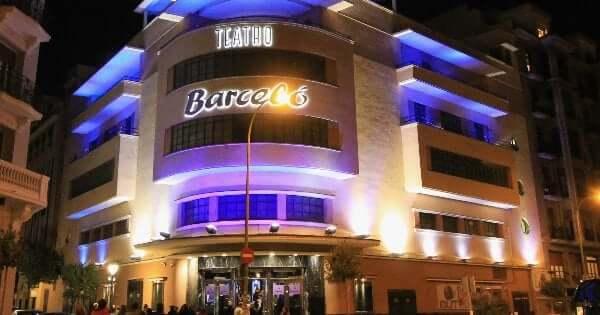 Balada Teatro Barceló em Madri
