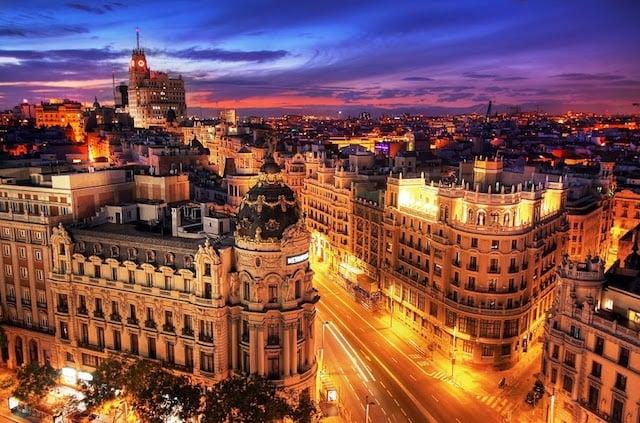 Feriados em Madri em 2018