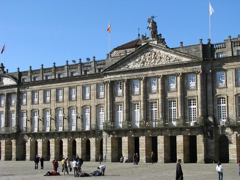 Palácio de Raxoi em Santiago de Compostela