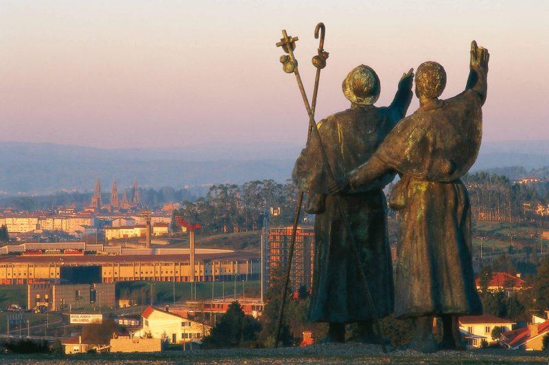 Estátuas em Santiago de Compostela