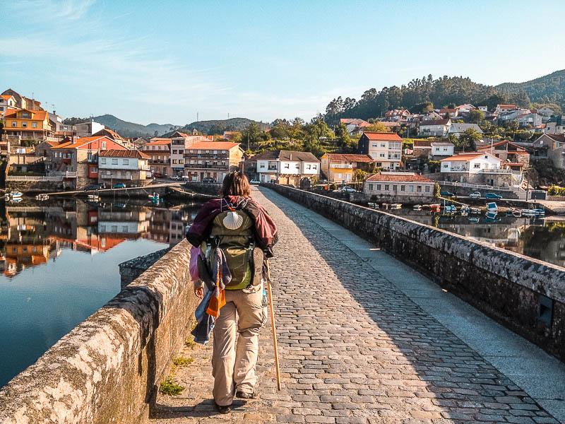 Caminho Português até Santiago de Compostela