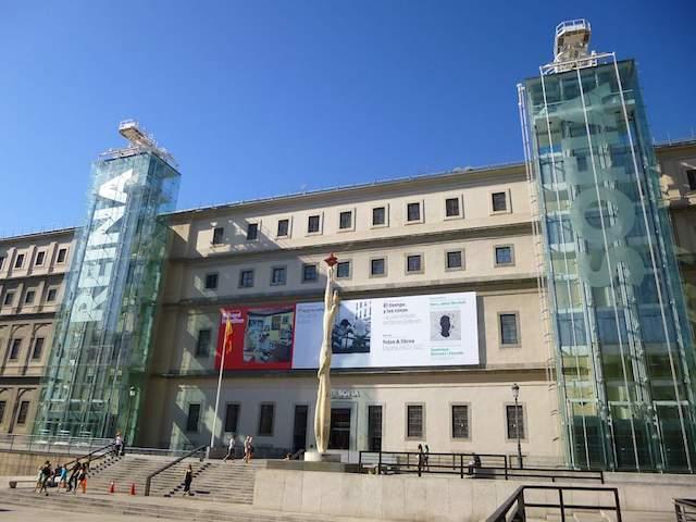 Ingressos para o Museu Reina Sofia em Madri