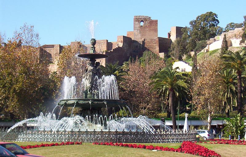 Castelo de Gibralfaro em Málaga