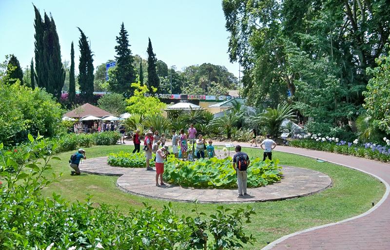 Jardim Botânico em Málaga
