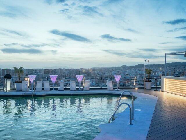 Dicas de hotéis em Málaga