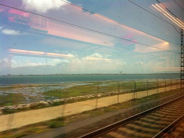 Viagem de trem de Valência a Barcelona