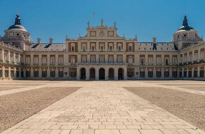 Palácio Real em Madri