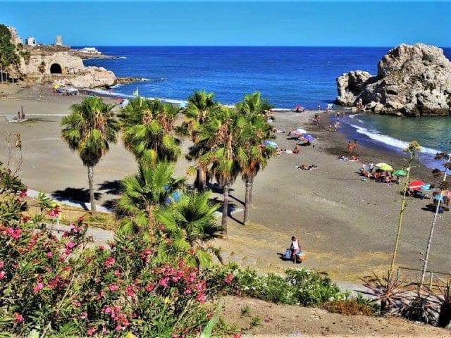 Melhores praias em Málaga