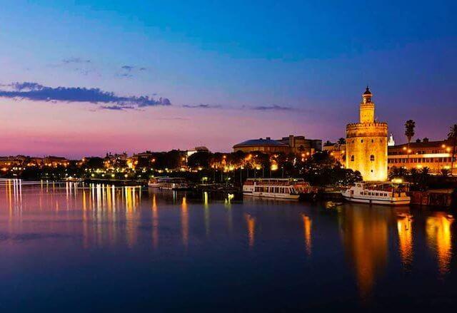Cidades perto de Sevilha