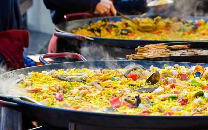 Paella em Valência