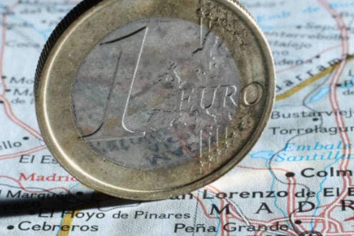 Como levar euros para Madri