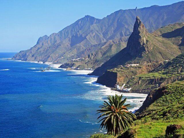 Pontos turísticos em Tenerife