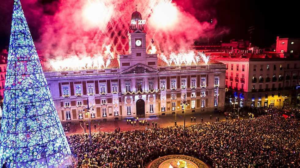 Ano novo na Espanha