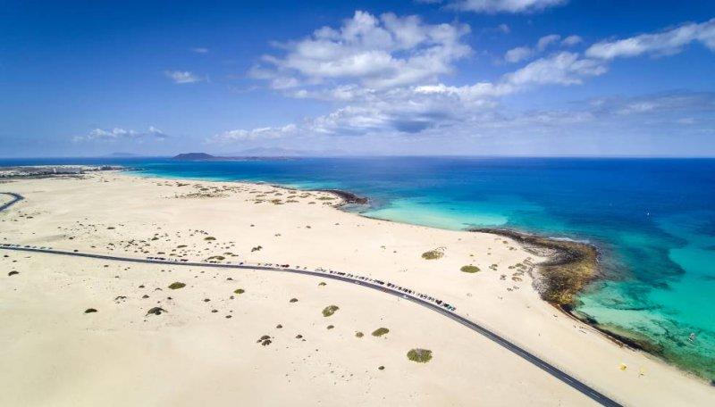 Corralejo em Fuertaventura
