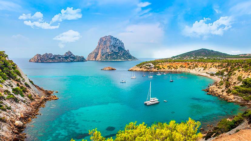 Paisagem de Ibiza