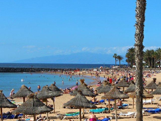 Playa de las Americas em Tenerife