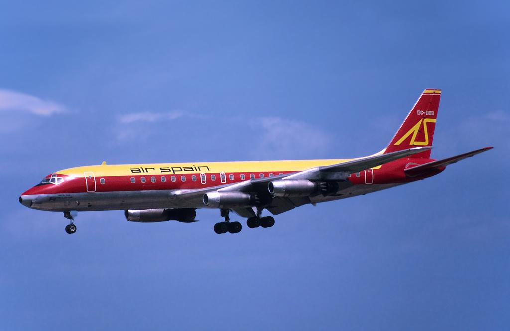Avião AirEspanha