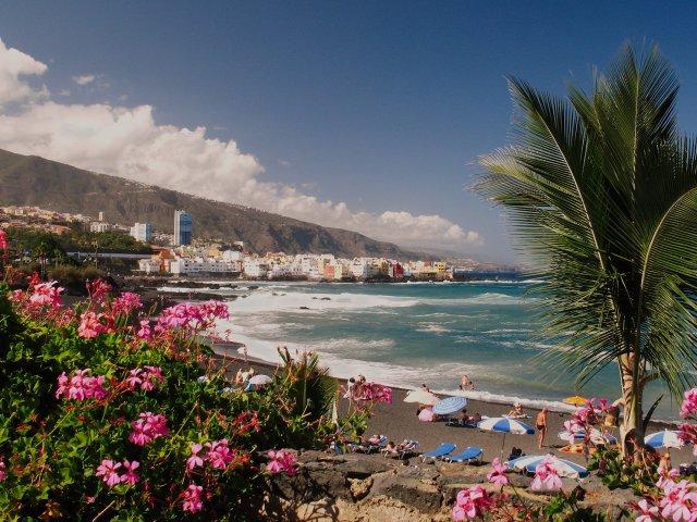 Playa Jardin em Tenerife