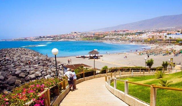 Playa de el Bollullo em Tenerife