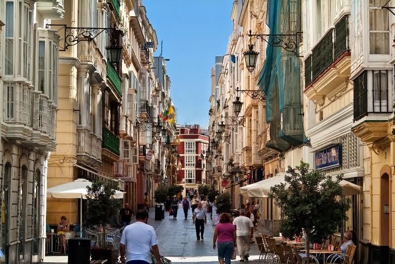 Compras em Cádiz