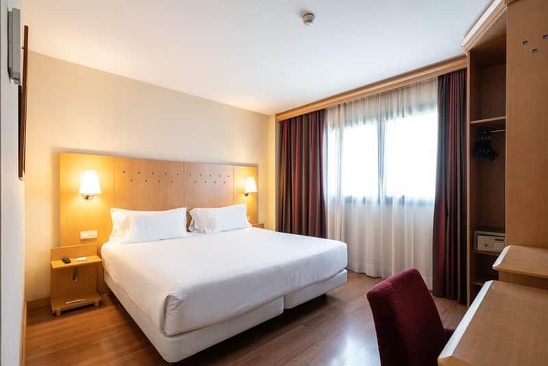 Suíte do Hotel NH Barcelona La Maquinista