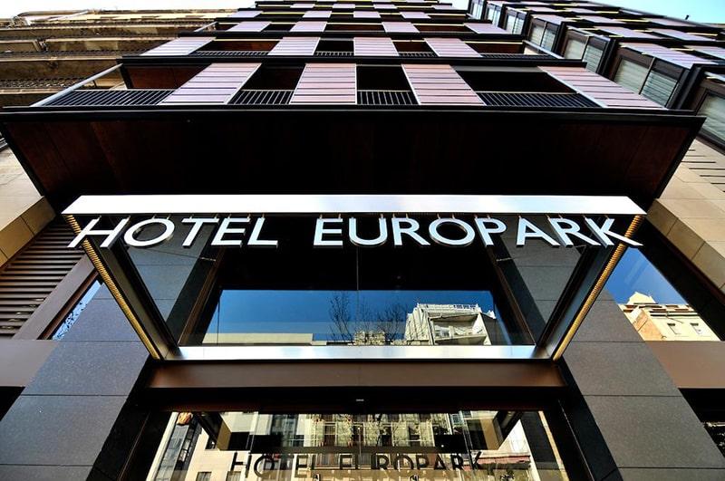 Europark Hotel em Barcelona