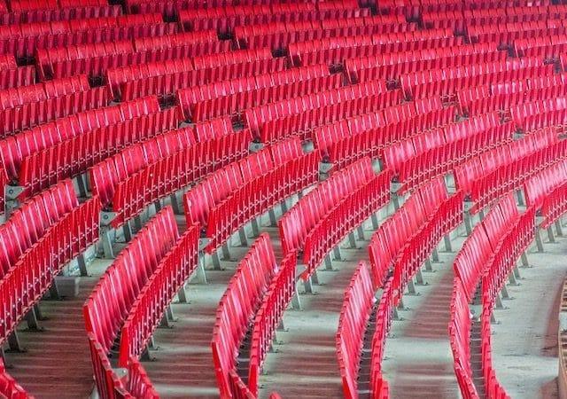 Estádio Camp Nou em Barcelona