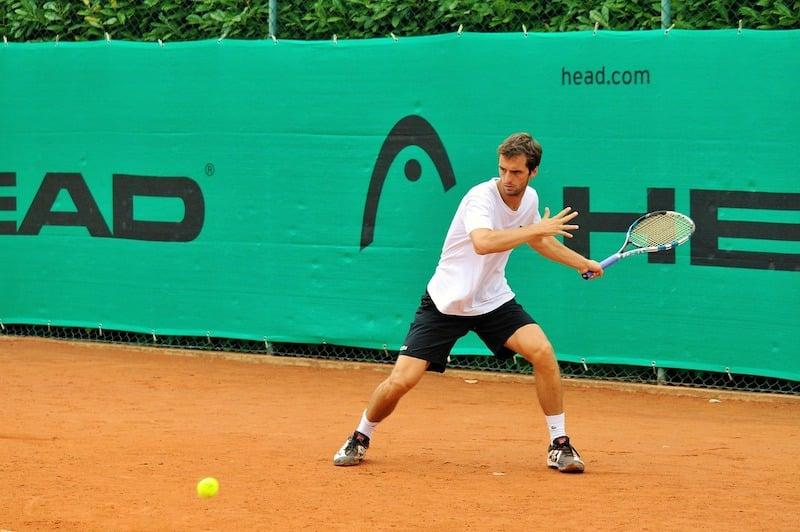 Jogador de tennis em Barcelona