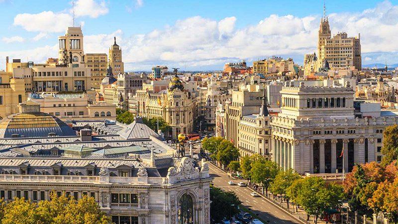 Primavera em Madri