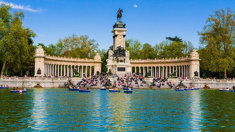 Julho - verão em Madri