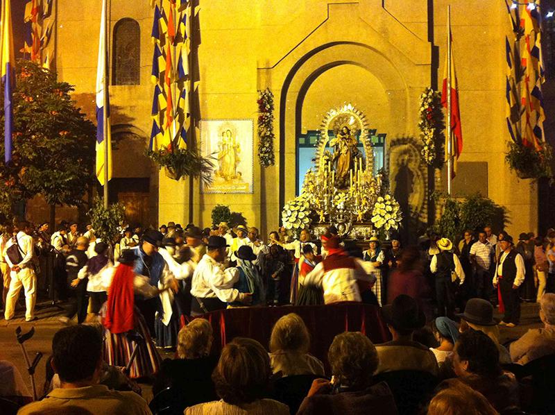 Fiestas de la Naval em Las Palmas